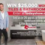 Today Show Beaumont Tiles Contest – Win Bathroomware