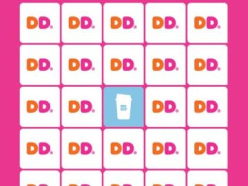 Dunkin' Bingo Instant Win Game Contest - Win Gift Cards