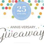Annie Selke  Annie-versary Giveaway – Win Cash Prize