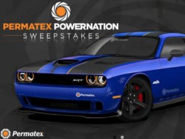 Permatex Powernation Sweepstakes
