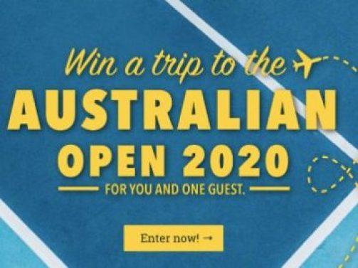 Win a Trip to the Australian Open 2020