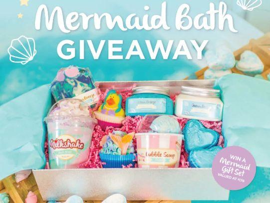 Mermaid Bath Giveaway