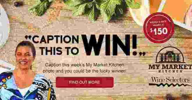 My Market Kitchen Caption Competition - Wine