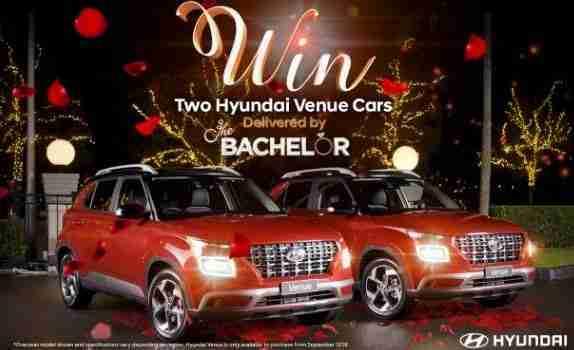 Network 10 The Bachelor Hyundai Venue Car Competition - Win A Car