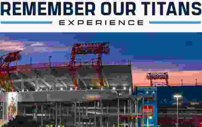 Remember Our Titans Experience Sweepstakes