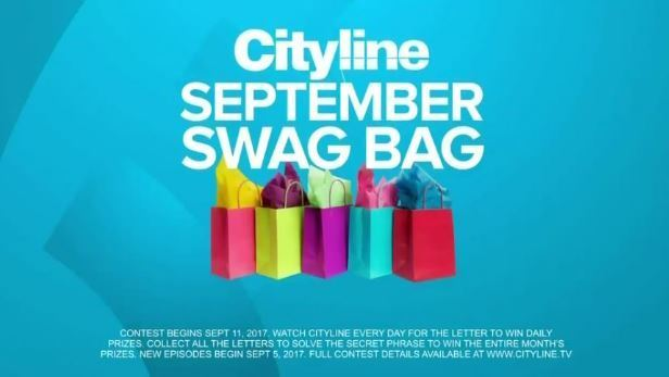 Cityline.ca Swag Bag Daily Prizing Contest