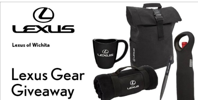 KSN Lexus Gear September Giveaway – Win Backpack And Gunmetal Twist Pens