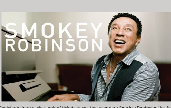 Lite FM Smokey Robinson Sweepstakes – Win A Pair Of Tickets