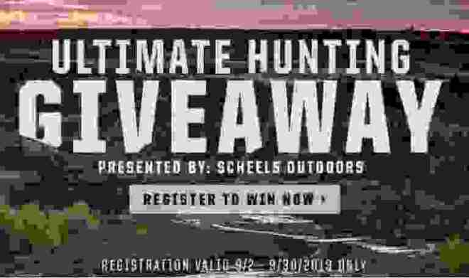 Scheels Ultimate Hunting Giveaway