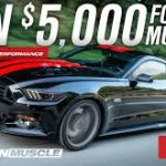American Muscle  SR Performance Giveaway (americanmuscle.com)