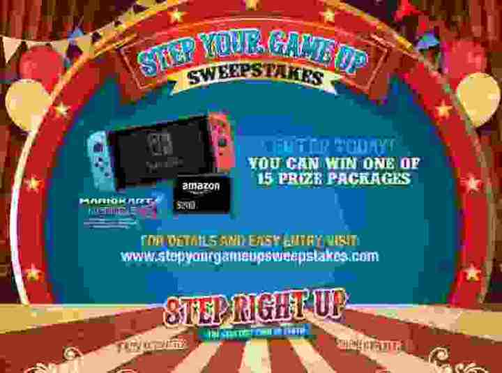 Sodexo Step Your Game Up Sweepstakes