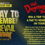 Join A Day To Remember On Tour Sweepstakes (98rock.iheart.com)