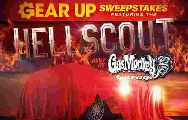 Gear Up Instant Win Game and Sweepstakes