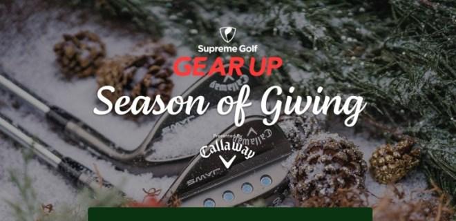 Supreme Golf Season Of Giving Sweepstakes