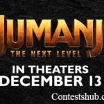"AMC ""Jumanji: The Next Level"" Sweepstakes (amctheatresjumanjiticketinggame.com)"