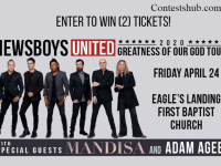 Newboys Uuited With Mandisa AdamAgee Tickets Contest