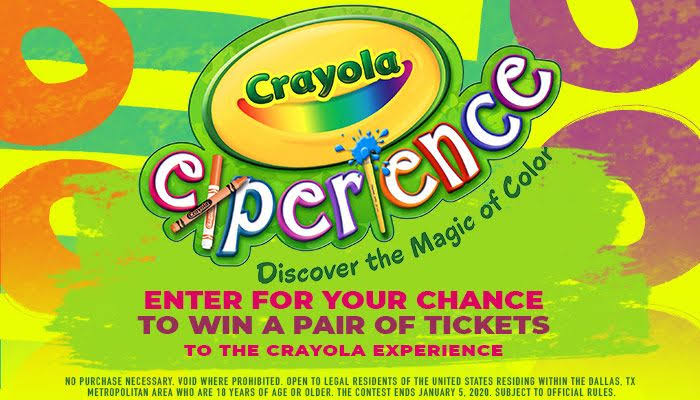 Crayola Experience Online Contest