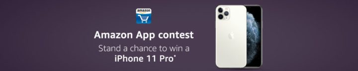 Amazon App Contest - Win A Iphone 11 Pro