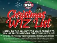 Christmas WIZ List Sweepstakes