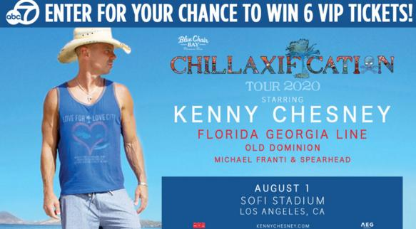 Kenny Chesney Tickets Sweepstakes