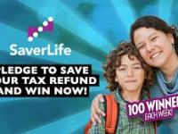 SaverLife Pledge Instant Win Game Sweepstakes