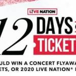 Live Nation 12 Days of Tickets Giveaway (d2xcq4qphg1ge9.cloudfront.net)