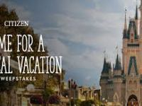 Citizen Watch Time For A Magical Vacation Sweepstakes