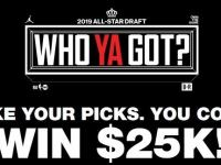 NBA All Star Who Ya Got Sweepstakes