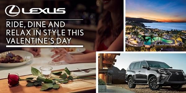 Lexus Valentine's Sweepstakes