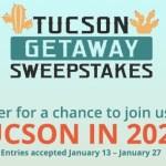 Shoplc Tucson Getaway Sweepstakes (shoplc.com)