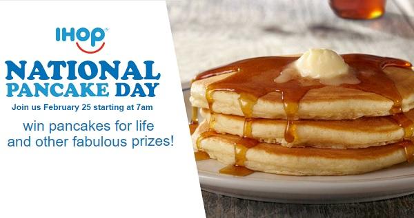 IHOP National Pancake Day Sweepstakes