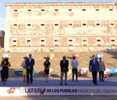 Pacto Centro Occidente por el Turismo expone la riqueza de 34 Pueblos Mágicos a través del arte