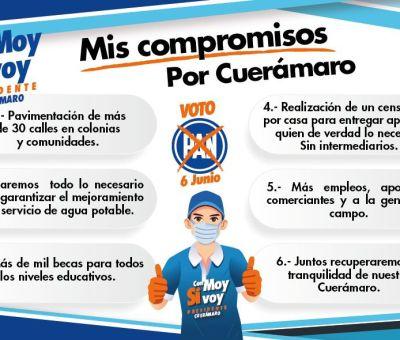 Propone Moy Cortéz impulsar a los jóvenes con oportunidades, deporte y educación