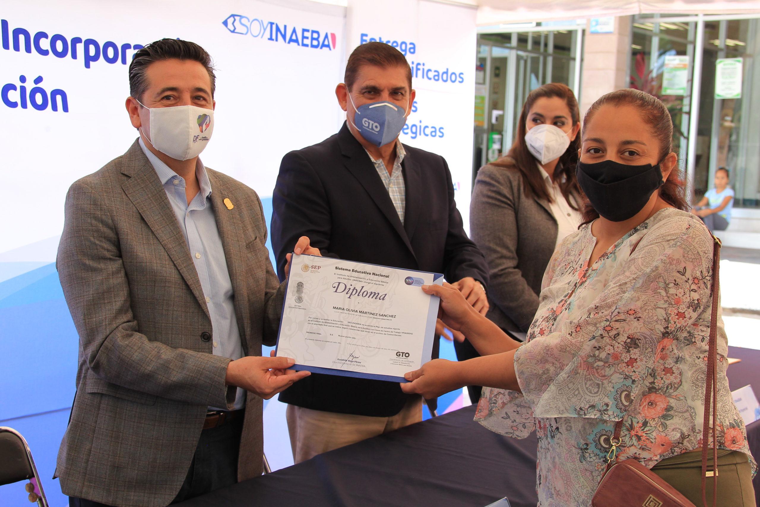 Arranca INAEBA jornada nacional de incorporación y acreditación en Purísima del Rincón