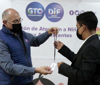 DIF Estatal Reconoce a Difusor Estatal por Representar a Guanajuato a Nivel Nacional en la Red CORIA.
