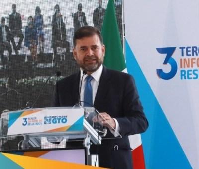 Diseñamos leyes que garantizan el desarrollo de las familias guanajuatenses: diputado Jesús Oviedo