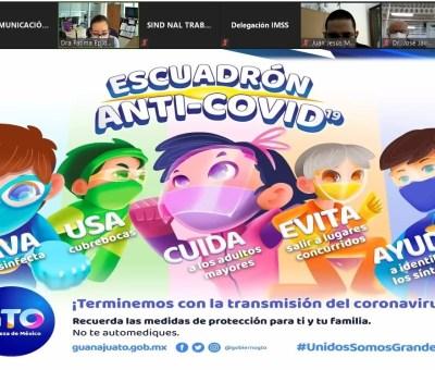 Guanajuato reporta 4 mil 309 personas activas portadoras de Covid.19 en municipios de la entidad