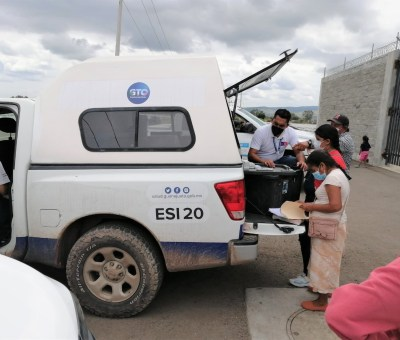 SSG ofrece atención puntual para la zona afectada por las inundaciones en Abasolo