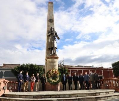 Conmemoran en Celaya 174 aniversario de la defensa del Castillo de Chapultepec