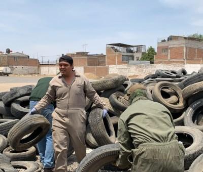 Por concluir campaña de Acopio de neumáticos en Silao