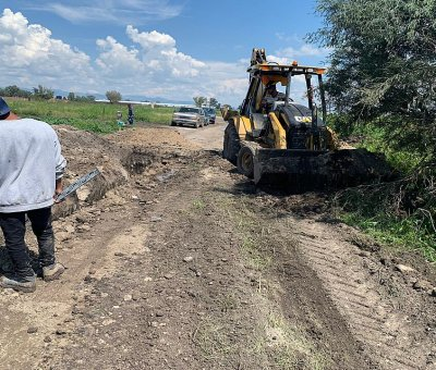 Más comunidades en Silao se benefician con infraestructura sanitaria