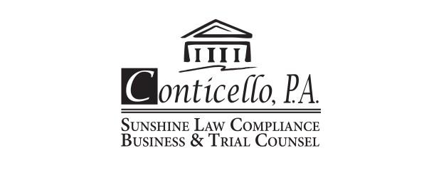 Conticello, P.A. - Sunshine Law Compliance, Business & Trial Counsel