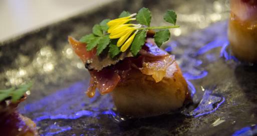 Ryu, sushi in Montreal - Truffle, proscuitto, scallop