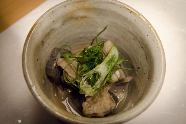 Hayama - Wagyu Beef Restaurant, Tokyo: Tripes and konjac