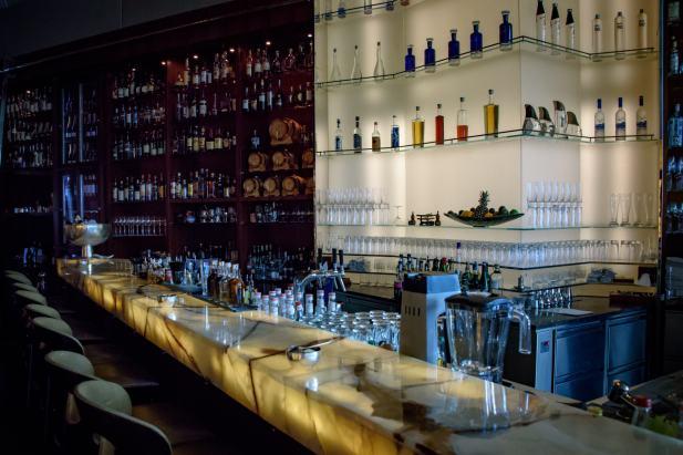 Parkhuus restaurant, Zurich: The Bar