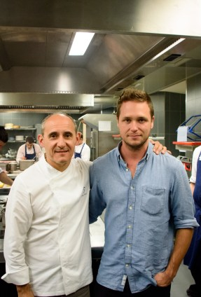 Restaurant Cinco: Paco Perez and Cedric Lizotte