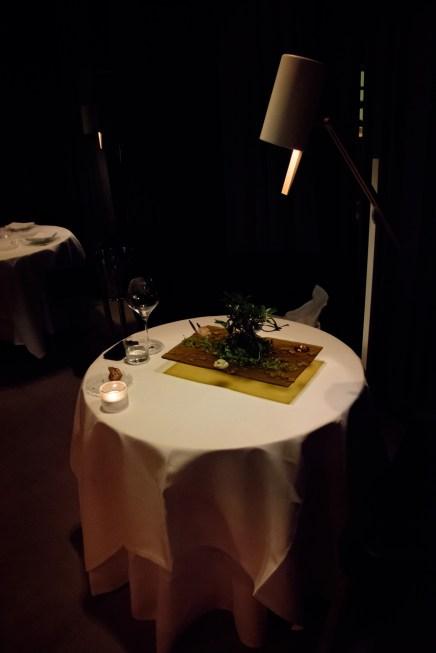 Restaurant Cinco: My table