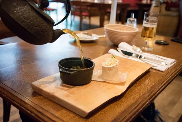 Brasserie Desbrosses, Berlin: Oxtail soup