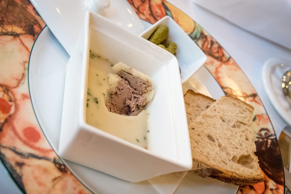 Traditional Czech Food at Cafe Imperial, Prague - Rabbit Terrine