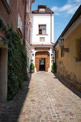 Terasa U Zlaté studně - Rooftop Restaurants in Prague: The Alleyway That Leads Straight to the Hotel
